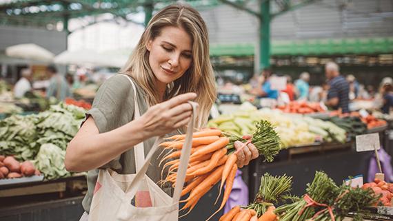 Dallas Farmers Market in Texas