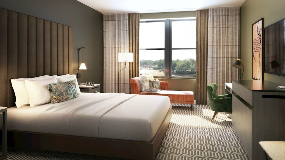 Deluxe King at Hotel VIN, Autograph Collection,Grapevine