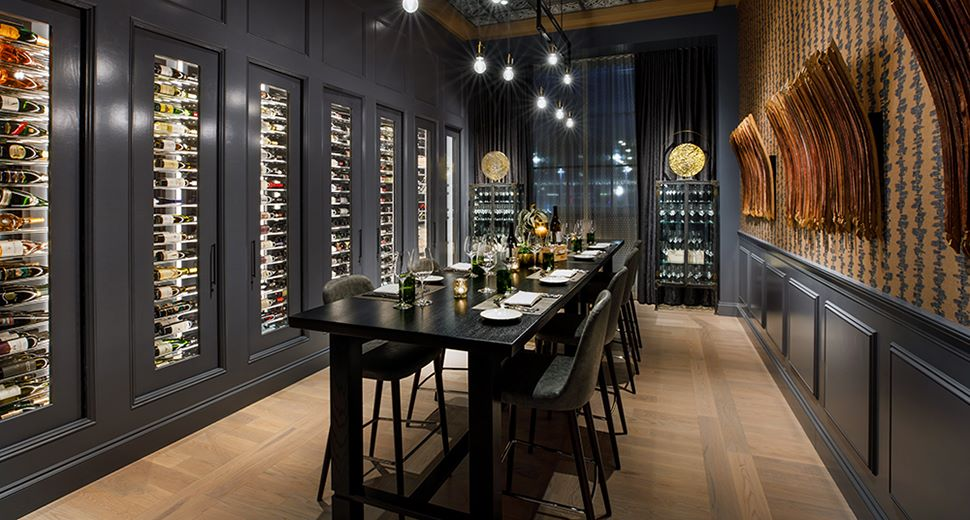 Wine Room at Texas