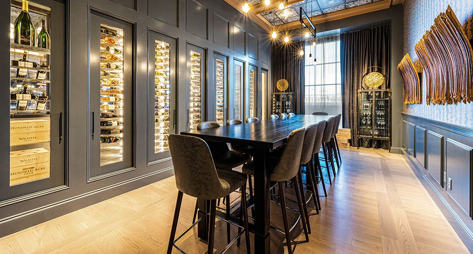 Wine Room at Texas