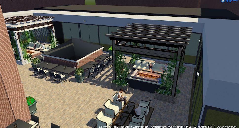 Rioja Rooftop Terrace at Texas