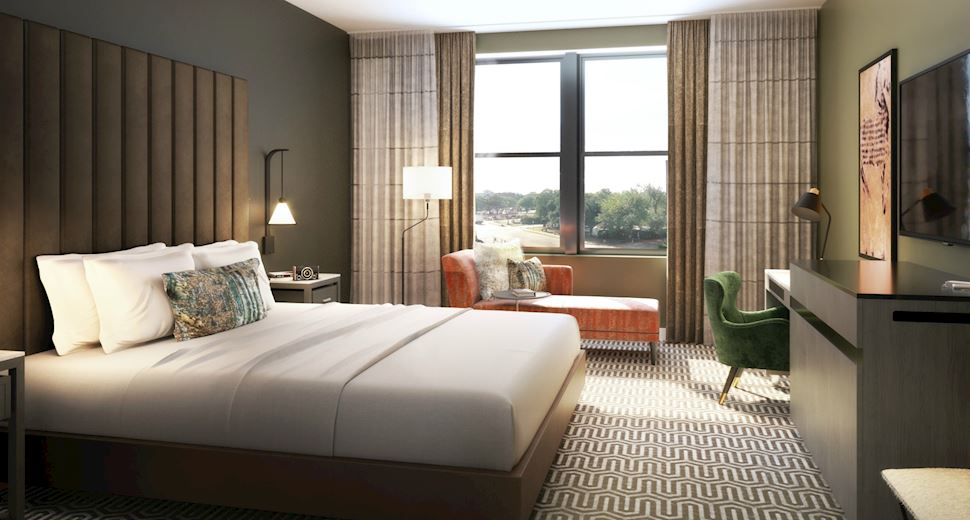 Deluxe King Room at Hotel VIN, Autograph Collection,Grapevine
